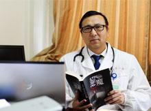 《东西南北丹东人》98期节目医学专家,作家----王宁夫图片